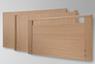 Westfalia IV - Häupter zur Auswahl: Standard (serienmäßig), Comodo mit Rundstollen (optional), Primero mit Griffleiste (optional)