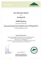 Zertifikat Burmeier
